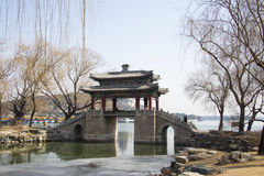 Asian China, Beijing, the Summer Palace, West Dyke ,Scenery Royalty Free Stock Images