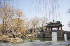 Asian China, Beijing, the Summer Palace, West Dyke ,Scenery Royalty Free Stock Photography
