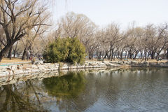 Asian China, Beijing, the Summer Palace, West Dyke ,Scenery Royalty Free Stock Image