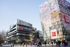 Asian China, Beijing, Taikoo Li Sanlitun, open the shopping district Royalty Free Stock Image