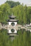 Asian China, Beijing, Taoranting Park Park, ancient buildings, pavilions Stock Image