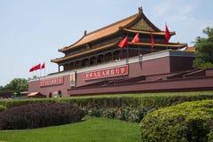 Asian China, Beijing, Tiananmen Royalty Free Stock Photos