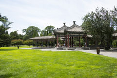 Asian China, Beijing, Tiantan, bicyclic Wanshou Pavilion Royalty Free Stock Photo