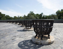 Asian China, Beijing, Tiantan, Liao furnace Royalty Free Stock Images