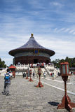 Asian China, Beijing, Tiantan Park, the imperial vault of heaven, historical buildings Stock Photography