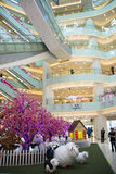 Asian China, Beijing, Wangfujing,  APM shopping center, interior design shop, Royalty Free Stock Photo