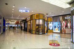Asian China, Beijing, Wangfujing,  APM shopping center, interior design shop, Stock Photo