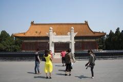 Asian China, Beijing, Zhongshan Park, Zhongshan Hall. Asian Chinese, Beijing, Zhongshan Park, Zhongshan hall, sheji altar prayer, to commemorate the great Sun Royalty Free Stock Photo