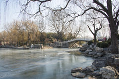 Asian China, Beijing, Zizhuyuan Park Royalty Free Stock Images
