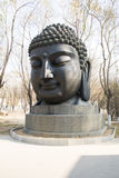 Asian China, Buddha head Royalty Free Stock Images
