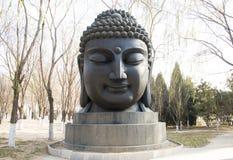 Asian China, Buddha head Stock Image