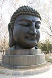 Asian China, Buddha head Stock Photography