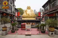 Asian China, Maitreya Buddha Royalty Free Stock Images