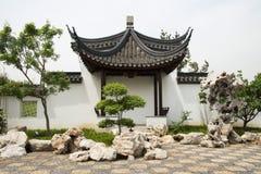 Asian China, pavilion, exterior wall Stock Photo