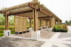 Free Asian China, Wood Structure House, Rose Stock Image - 40775921