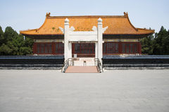 Asian Chinese, ancient building, Zhongshan Park, stone arches, Zhongshan Hall. Asian China, Beijing, Zhongshan Park, stone arches, Zhongshan hall, construction Royalty Free Stock Photography