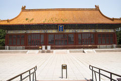 Asian Chinese, ancient building, Zhongshan Park, Zhongshan Hall Stock Photography