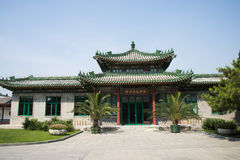 Asian Chinese, antique buildings, exhibition hall Stock Images