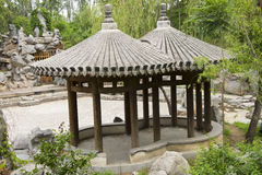 Asian Chinese, antique buildings, the Pavilion Stock Photo