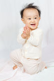 Asian Chinese Baby Smiling Stock Photos