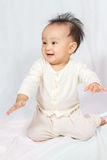 Asian Chinese Baby Smiling Royalty Free Stock Photo