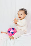 Asian Chinese Baby Smiling Royalty Free Stock Image