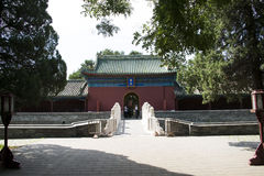 Asian Chinese, Beijing, ancient building, Tiantan, fasting Palace Royalty Free Stock Photography