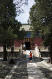Asian Chinese, Beijing, ancient building, Tiantan, fasting Palace Stock Image