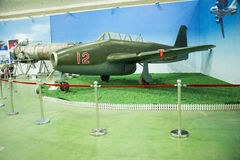 Asian Chinese, Beijing Aviation Museum,Display Hall. Asian Chinese, Beijing, aviation museum, Chinese first opening large aviation museum, is Asia's largest Stock Photography