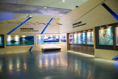 Asian Chinese, Beijing Aviation Museum,Display Hall. Asian Chinese, Beijing, aviation museum, Chinese first opening large aviation museum, is Asia's largest Stock Images