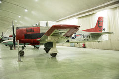 Asian Chinese, Beijing Aviation Museum,. Asian Chinese, Beijing, aviation museum, Chinese first opening large aviation museum, is Asia's largest aviation Royalty Free Stock Photos