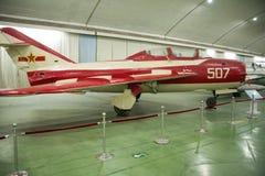 Asian Chinese, Beijing Aviation Museum,. Asian Chinese, Beijing, aviation museum, Chinese first opening large aviation museum, is Asia's largest aviation Stock Photos