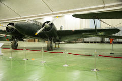 Asian Chinese, Beijing Aviation Museum,. Asian Chinese, Beijing, aviation museum, Chinese first opening large aviation museum, is Asia's largest aviation Stock Photo