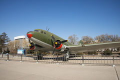 Asian Chinese, Beijing Aviation Museum,. Asian Chinese, Beijing, aviation museum, Chinese first opening large aviation museum, is Asia's largest aviation Royalty Free Stock Image