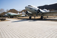 Asian Chinese, Beijing Aviation Museum, Royalty Free Stock Images