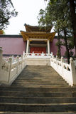 Asian Chinese, Beijing Badachu Park, the ancient b Royalty Free Stock Images