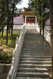 Asian Chinese, Beijing Badachu Park, the ancient b Stock Photos