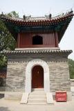 Asian Chinese, Beijing Badachu Park, the ancient b Stock Photo