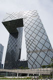 Asian Chinese, Beijing, CCTV headquarters Royalty Free Stock Image