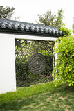 Asian Chinese Beijing Garden Expo, decorative patt Royalty Free Stock Photo