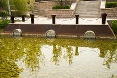 Asian Chinese, Beijing Garden Expo Garden, modern  Stock Photography