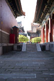 Asian Chinese, Beijing, historic buildings, The Lama Temple Stock Photo