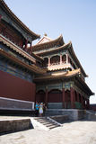 Asian Chinese, Beijing, historic buildings, The Lama Temple Stock Photos