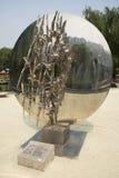 Asian Chinese, Beijing, International Sculpture Park, environment Stock Photo