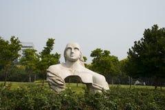 Asian Chinese, Beijing, international sculpture park,nvwa Stock Image