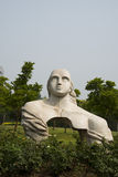 Asian Chinese, Beijing, international sculpture park,nvwa Royalty Free Stock Photo