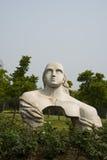 Asian Chinese, Beijing, international sculpture park,nvwa Royalty Free Stock Photo