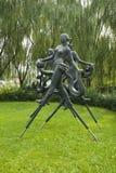 Asian Chinese, Beijing, International Sculpture Park, yangko dance Stock Photography