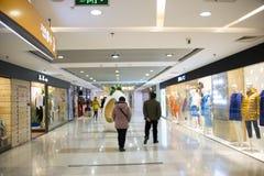 Asian Chinese, Beijing, Joy City Shopping Plaza,Interior, the shop layout, Stock Photo