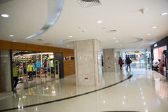 Asian Chinese, Beijing, Joy City Shopping Plaza,Interior, the shop layout, Royalty Free Stock Photo